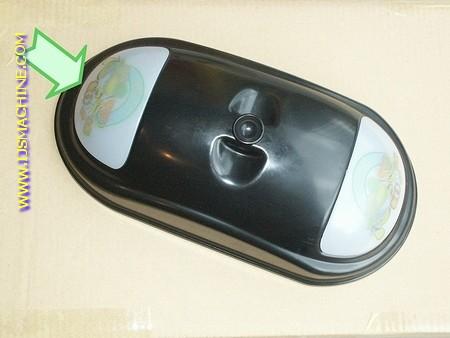 Glas voorzijde tankdeksel (Grani)