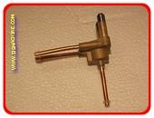 Magneetklep (zonder magneet) alleen voor Igloo 2